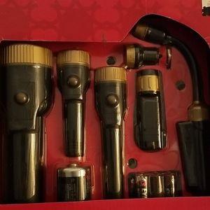 6 piece flashlight set